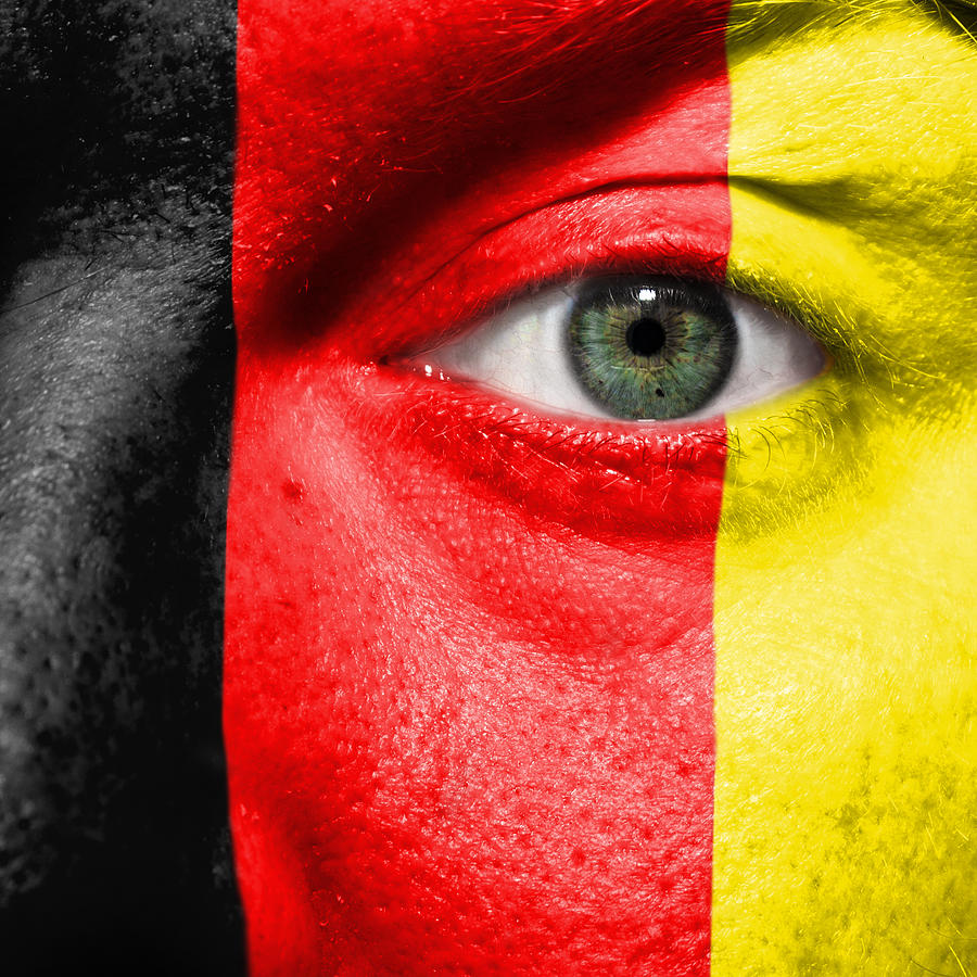 2012 Photograph - Go Belgium by Semmick Photo