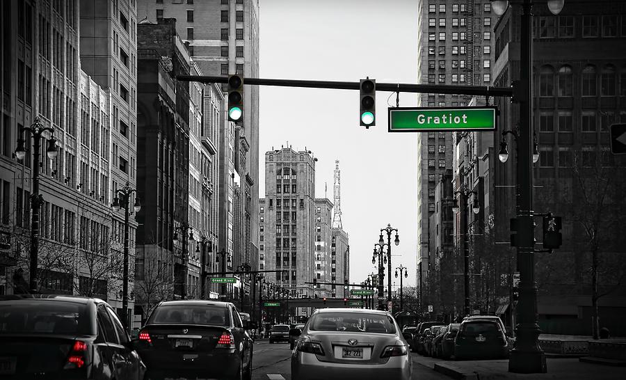 Downtown Photograph - Go Go Gratiot by Gordon Dean II