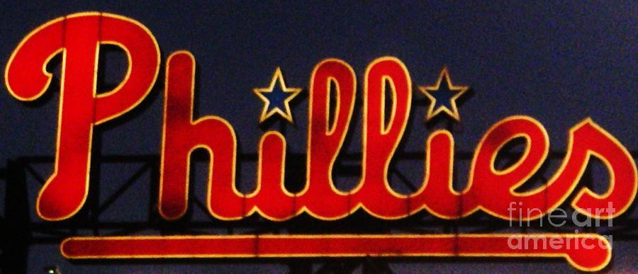 Philadelphia Phillies Photograph - Go Phils by Snapshot Studio