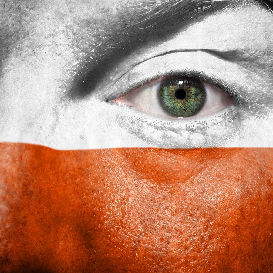 2012 Photograph - Go Poland by Semmick Photo