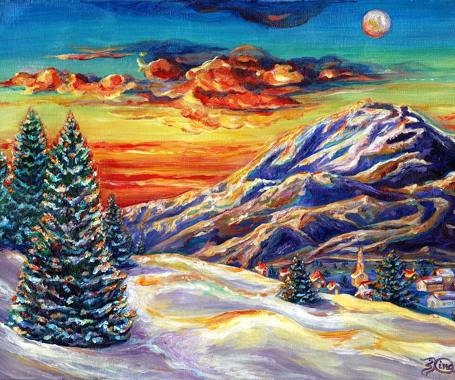 Landscape Painting - Go Tell It On The Mountain by Suzanne King