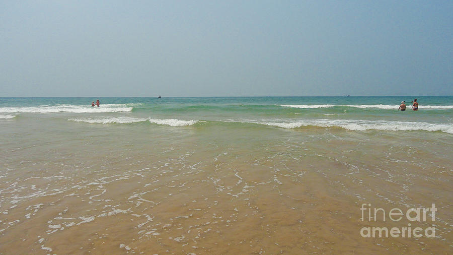 Goa Beach Photograph by Conceptioner Sunny