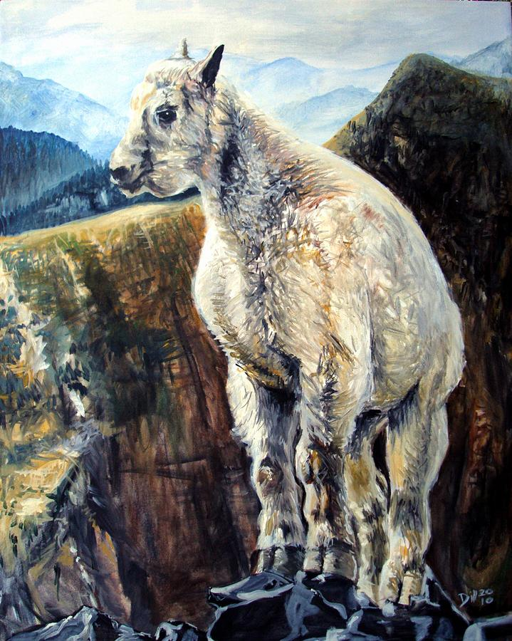 Goat Painting by Rust Dill