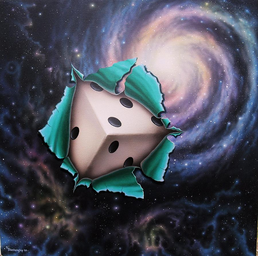 god does not play dice with the universe einstein