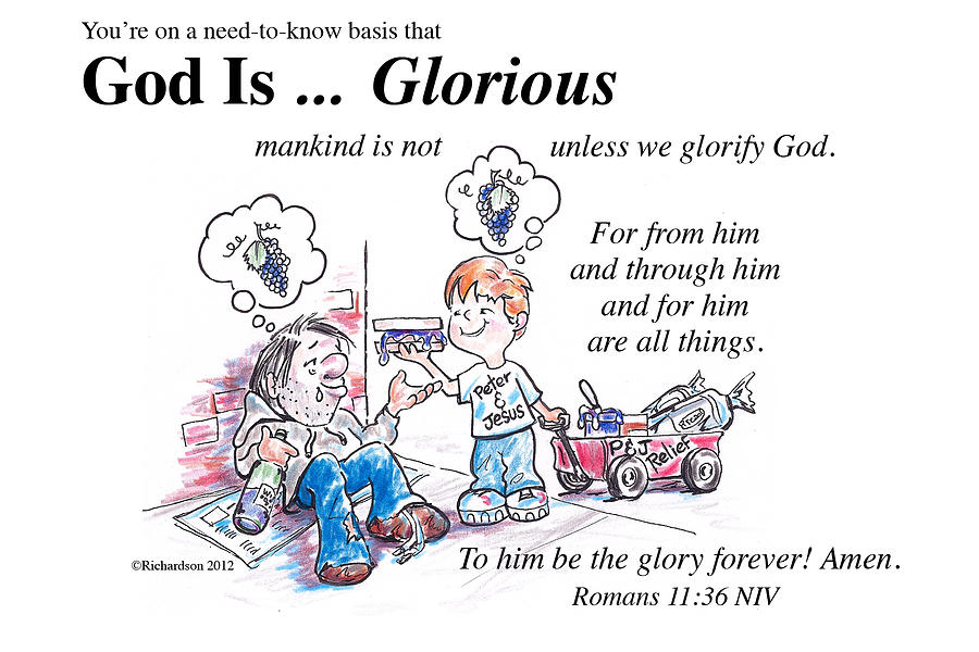 God is Glorious by George Richardson