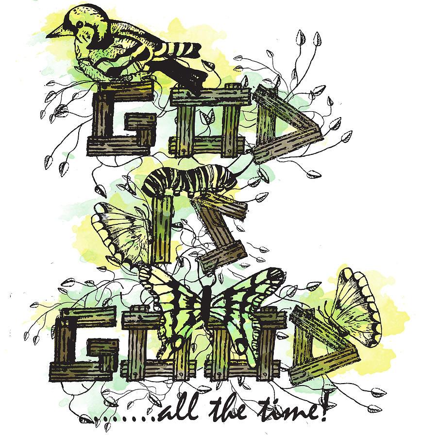 God Painting - God Is Good by Danielle Kasony