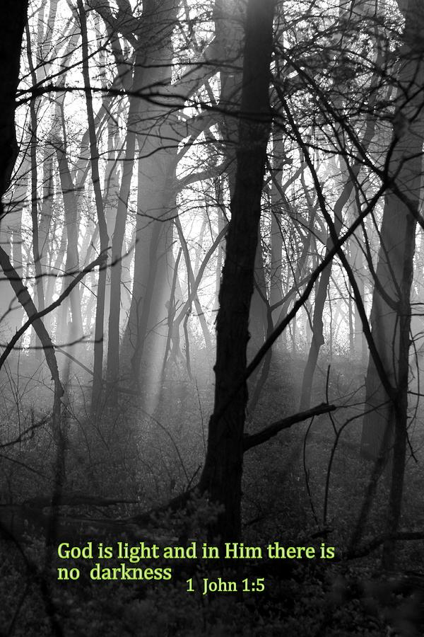 Christian Photograph - God Is Light by Rick Rauzi