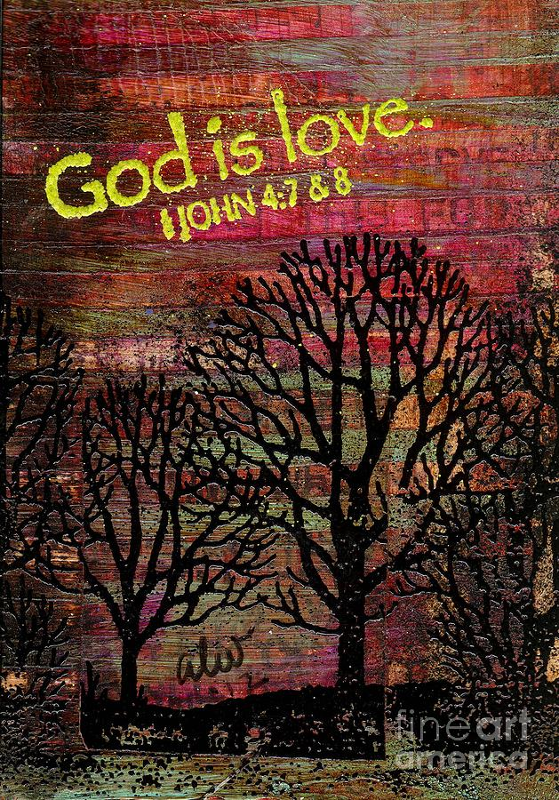 God Is Love Painting