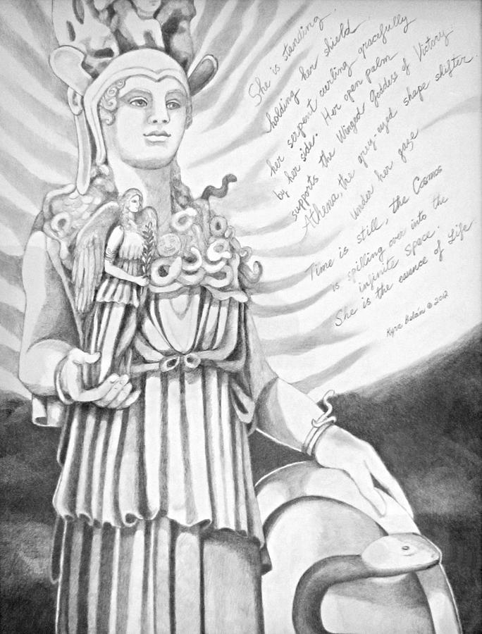 essay on athena goddess