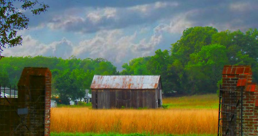 Blue Photograph - Gods Country by Trish Clark