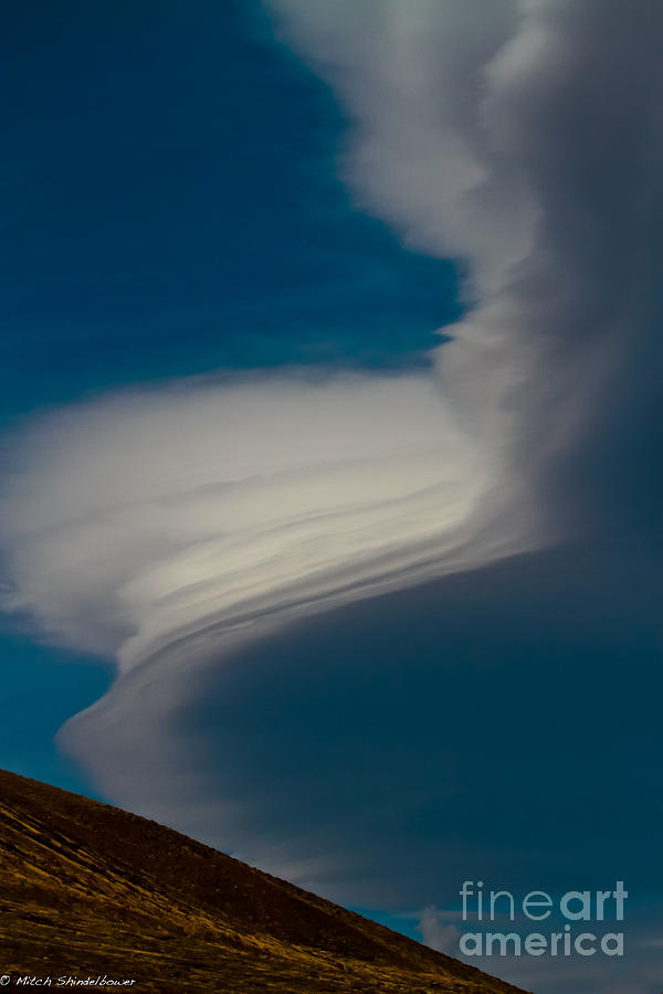 Clouds Photograph - Gods Frosting by Mitch Shindelbower
