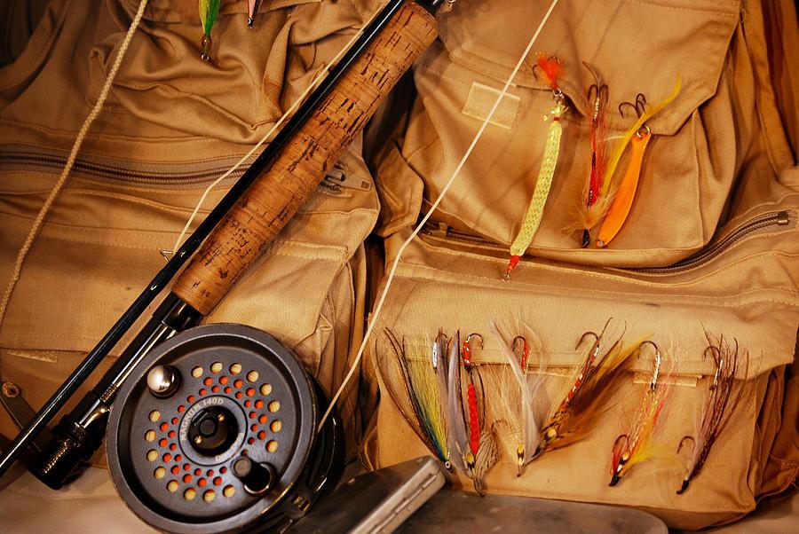 Fishing Photograph - Goin Fishin by Skip Willits