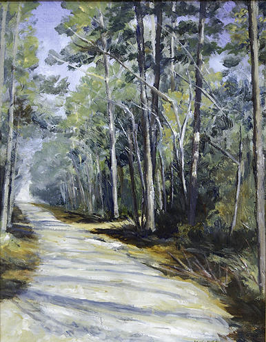 Country Roads Painting - Going Home by Betty McGlamery
