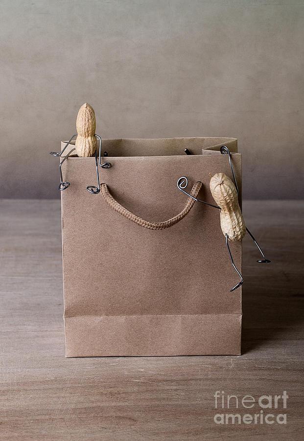 Peanut Photograph - Going Shopping 02 by Nailia Schwarz