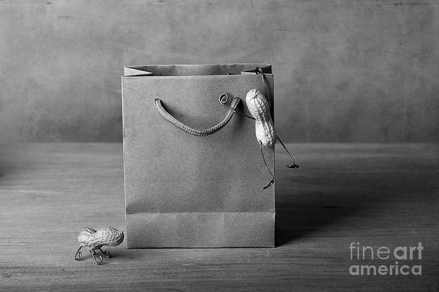 Peanut Photograph - Going Shopping 04 by Nailia Schwarz