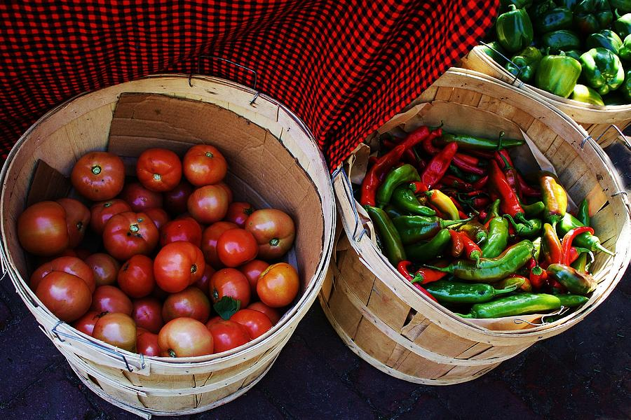 Tomatoes Photograph - Going To Market by Paulette Thomas