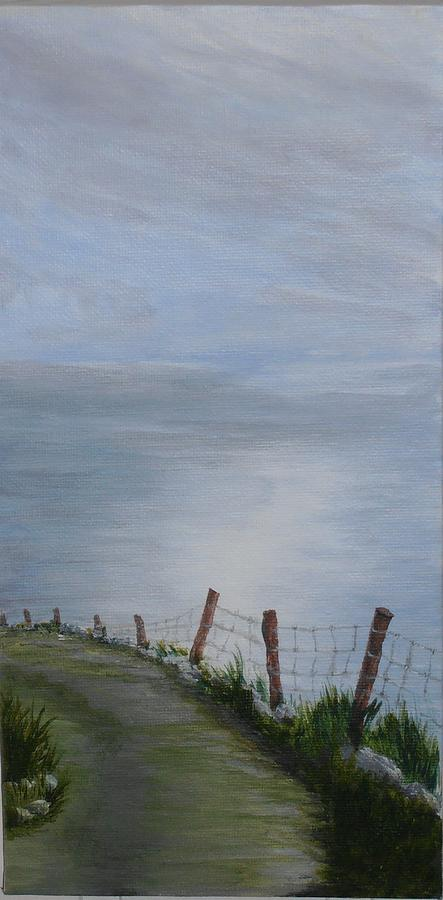 Irish Seascape Painting - Going West.... by Siobhan Lawson