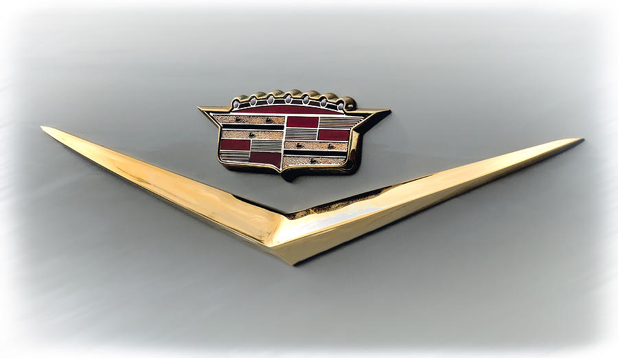 Cadillac Digital Art - Gold Badge Cadillac by Douglas Pittman