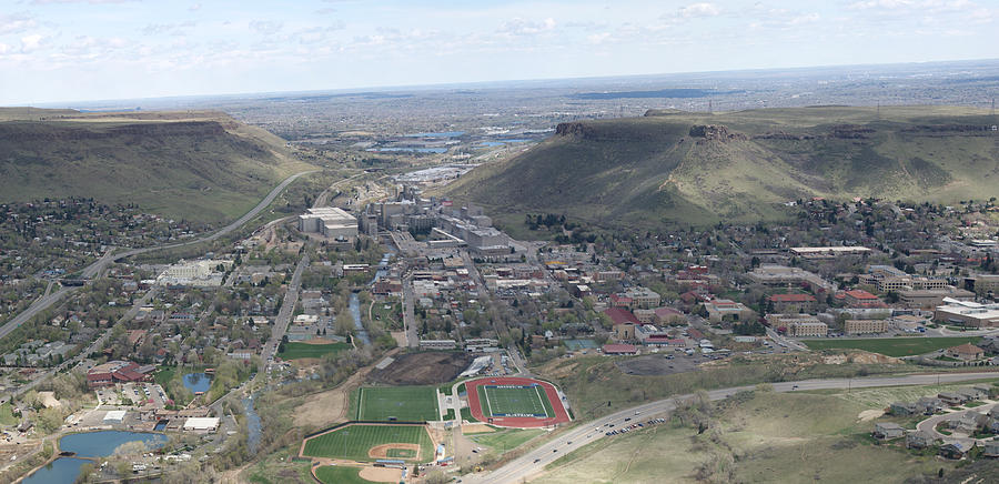 Abstract Digital Art - Golden Colorado by Bill Kennedy
