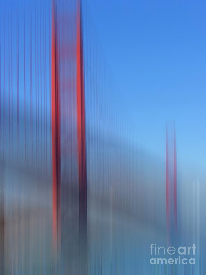 Golden Gate Bridge Photograph - Golden Gate Bridge In Motion by Karin Ubeleis-Jones