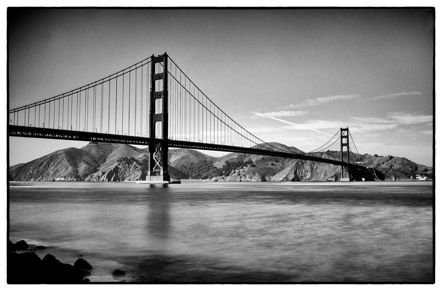 Golden Gate Bridge Photograph - Golden Gate Bridge by Tanya Harrison