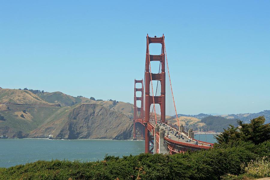 Bridge Photograph - Golden Gate by Wendi Curtis