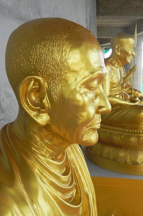 Monk Photograph - Golden Monk by Jarrod Faranda