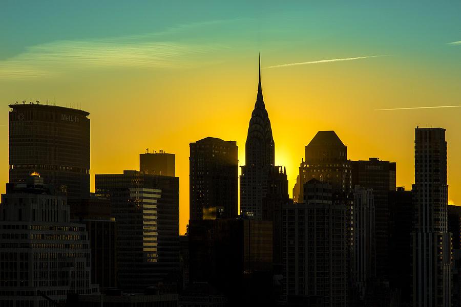 Buildings Photograph - Golden Rise by Janet Fikar