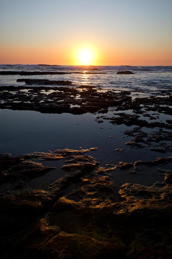 Golden Photograph - Golden Rocks by Nadya Ost