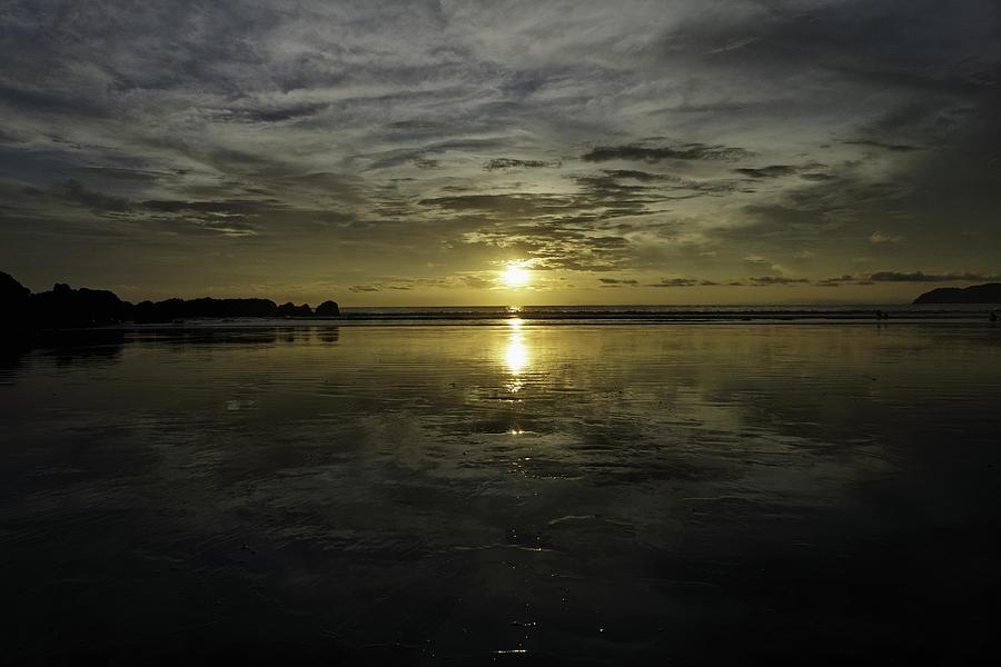 Sunset Photograph - Golden Sunset 7188 by Sortarivs Arts