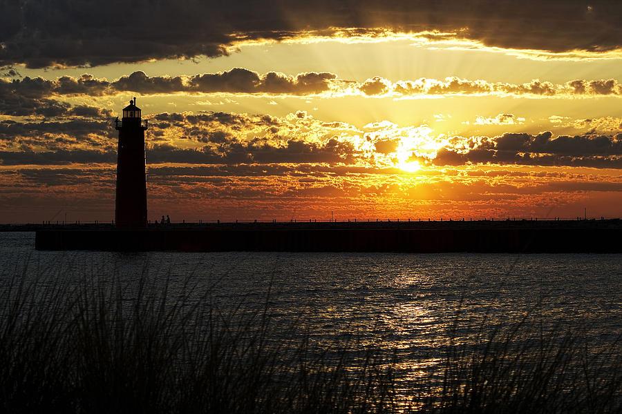 Golden Sunset Photograph - Golden Sunset by Joe Gee