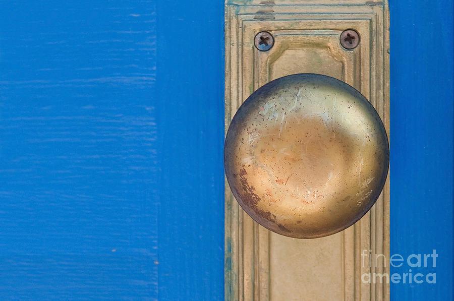Blue Photograph - Goldenknob by Dan Holm