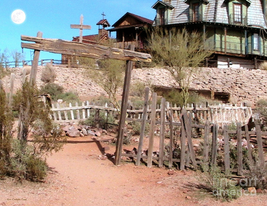Apache Junction Photograph - Goldfield Ghost Town by Cristophers Dream Artistry