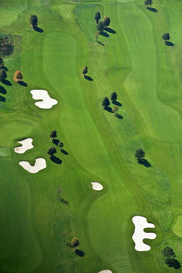 Vertical Photograph - Golf Course by Daniel Reiter