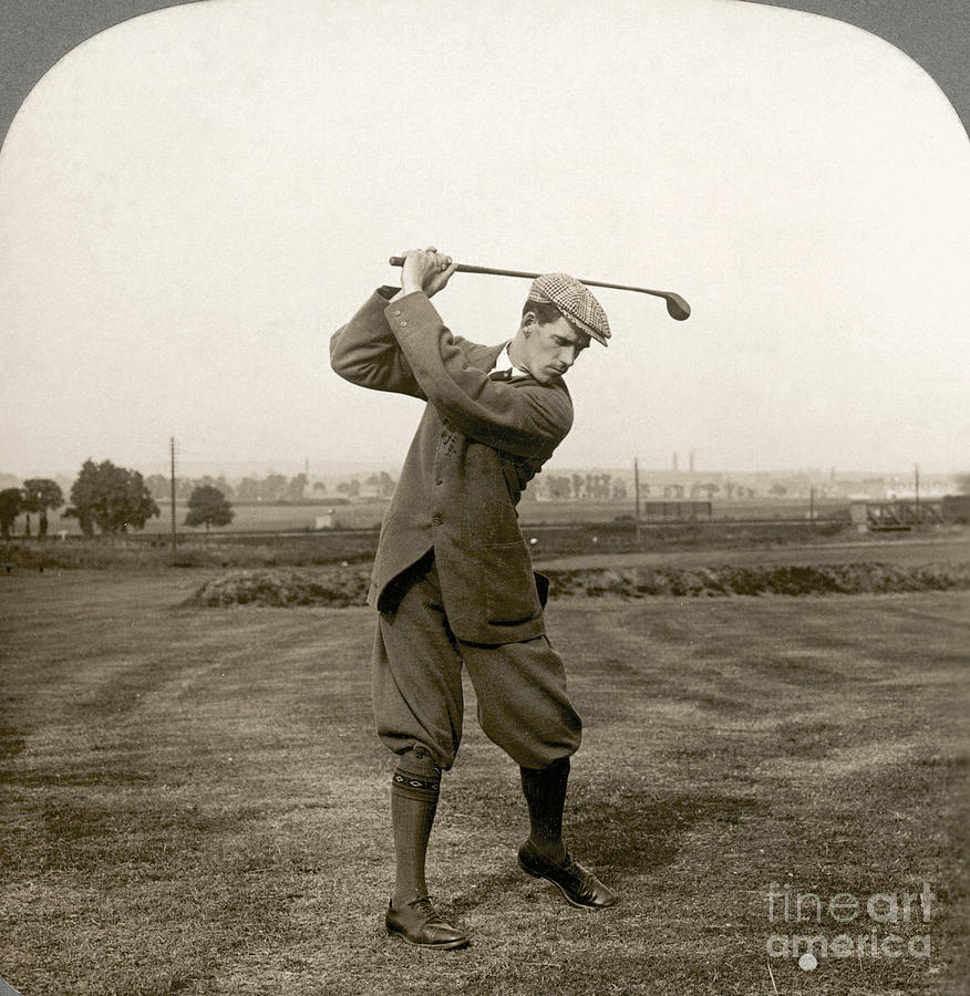 Golf George Duncan 1920s Photograph By Granger