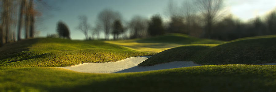 Golf Photograph - Golf Topography I by Bob Retnauer