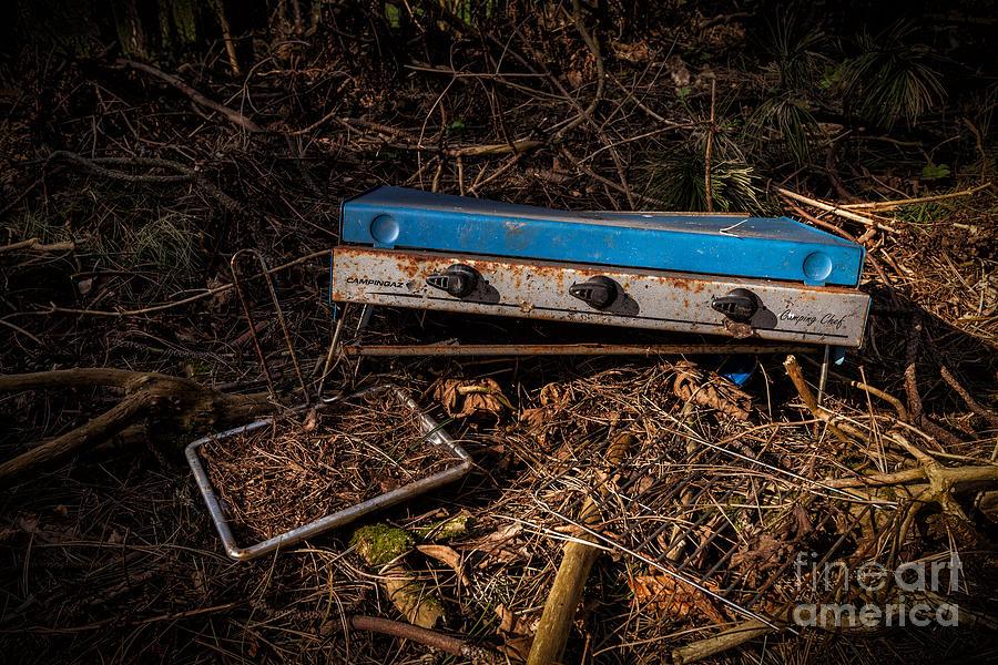 Abandoned Photograph - Gone Camping by John Farnan