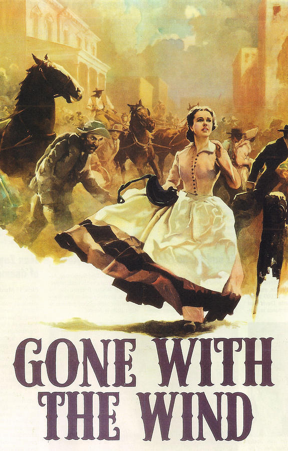 Gone With The Wind Photograph - Gone With The Wind by Georgia Fowler