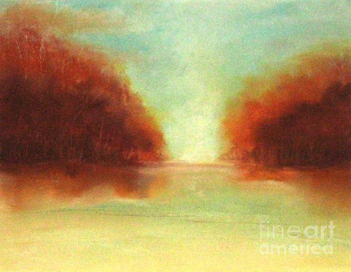 Lake Pastel - Good Earth   Haze by Rosemarie Glennon Kliegman