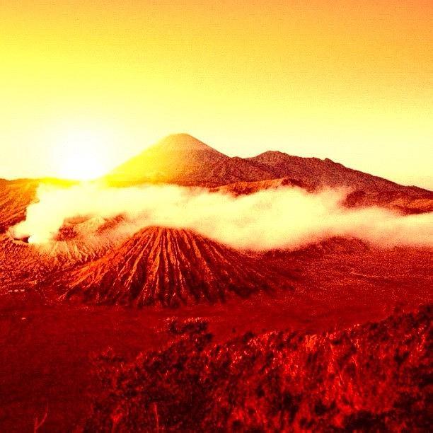 Beautiful Photograph - Good Morning From Mount Bromo by Arya Swadharma