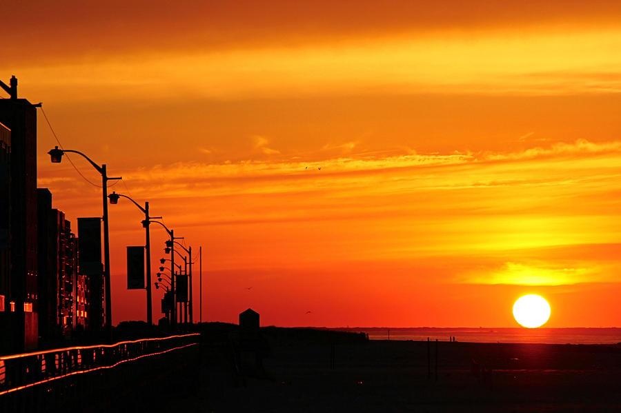 Good morning long beach ny photograph by manuel cleofas for Long beach ny shirts