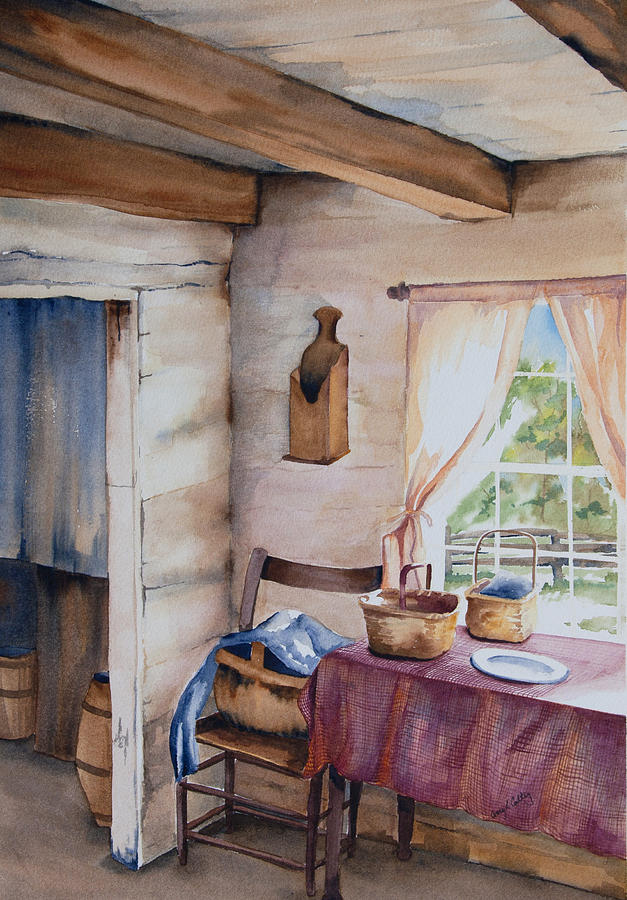Watercolor Painting - Good Morning Mr. Lincoln by Amy Caltry