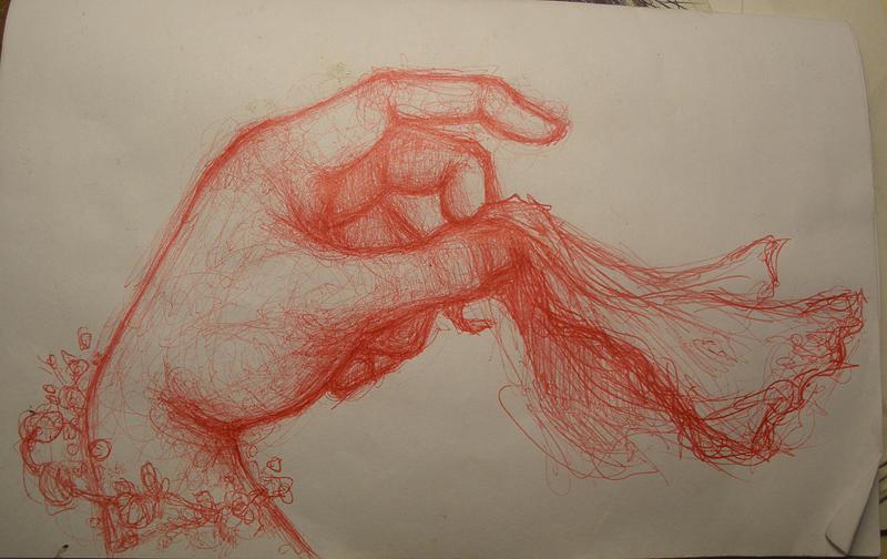 Goodbye Drawing by Ralph Nixon Jr