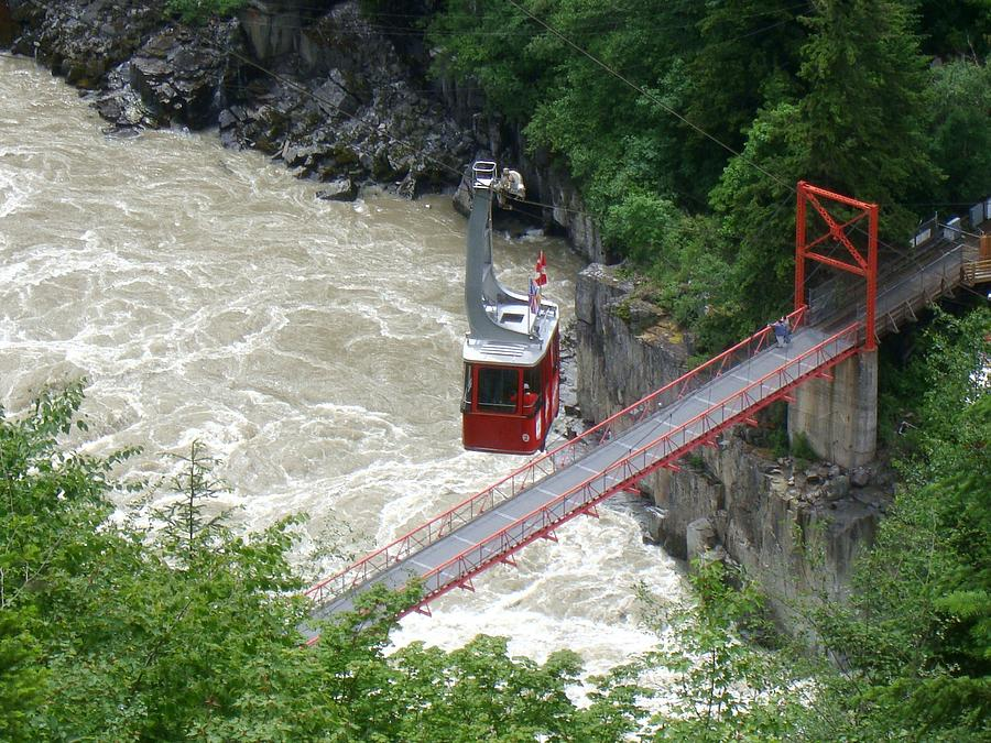 Hells Gate Gorge Tramway, British Columbia Photograph