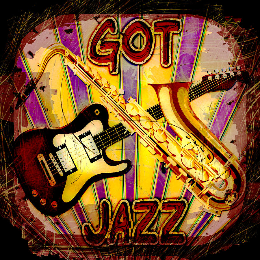 Jazz Photograph - Got Jazz Abstract by David G Paul