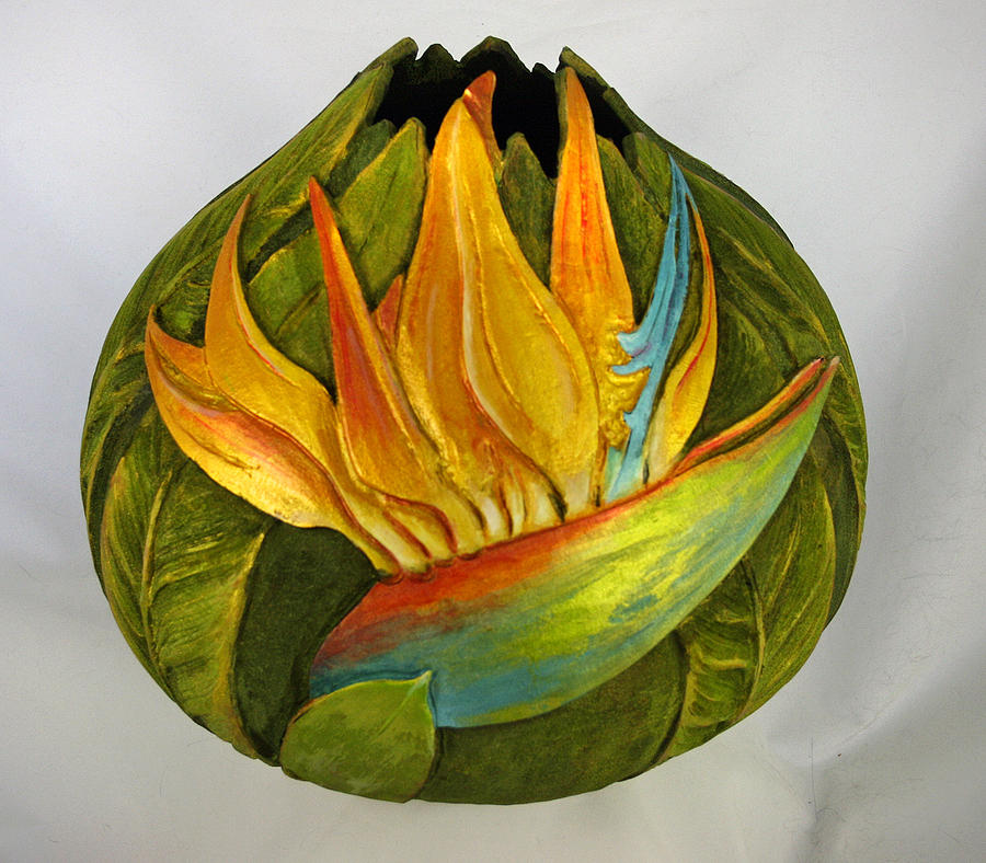 Tropical Sculpture - Gourds By Grace by Grace Swanson
