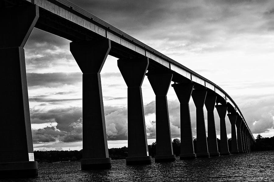 Bridge Photograph - Gov. Thomas Johnson Bridge by Kelly Reber