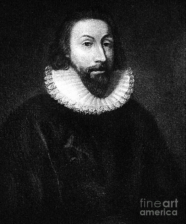 John Winthrop Photograph - Governer John Winthrop by Extrospection Art