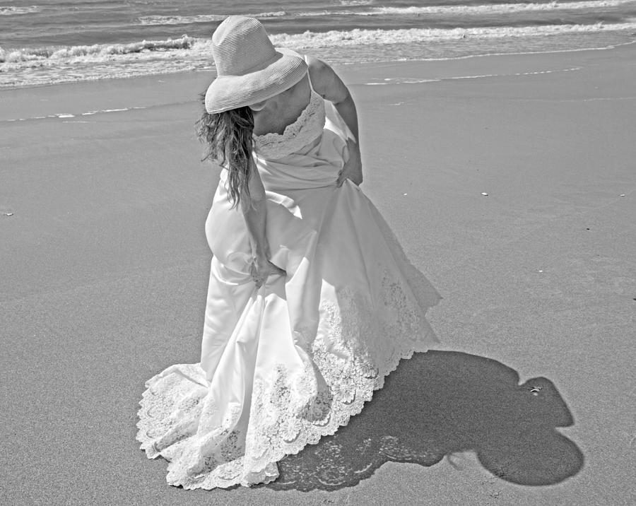 Topsail Photograph - Gown Gathering by Betsy Knapp