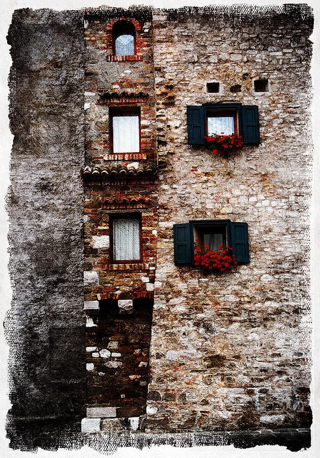 Framed Pyrography - Grado 3 by Mauro Celotti